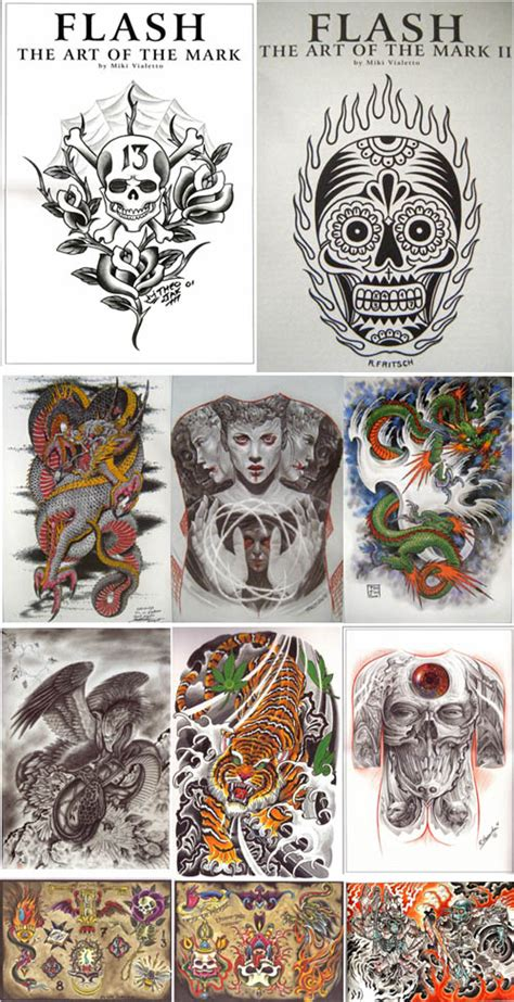 tattoo flash books free download download tattoo flash book the art of the mark