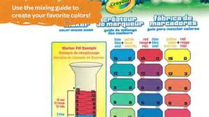 color maker crayola marker maker color chart quotes