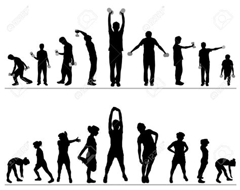 Fitness World Graphic 1 exercise cliparts