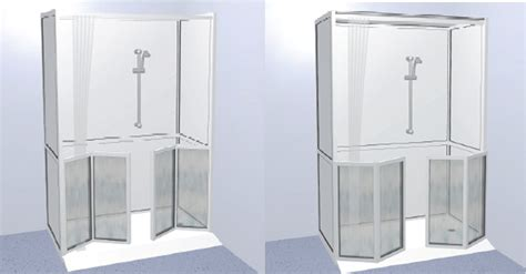 Disabled Half Height Shower Doors Walk In Showers Tyne And Wear