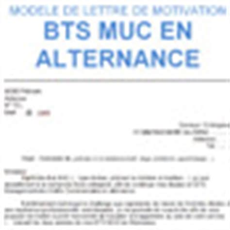Exemple De Lettre De Motivation Bts En Alternance Modele Lettre De Motivation Alternance Bts Muc Document