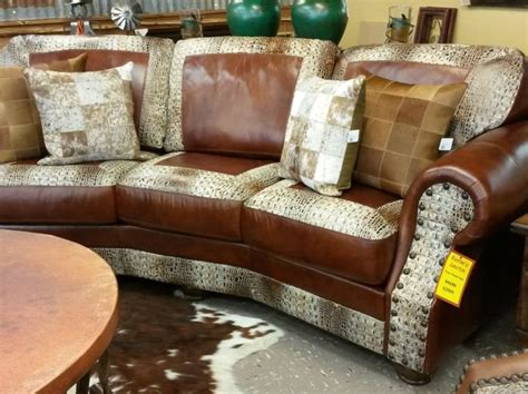 alligator skin couch memorial day sale rustler s junction