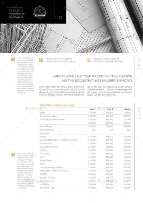 pages business plan template 20 pages business plan template by keboto graphicriver