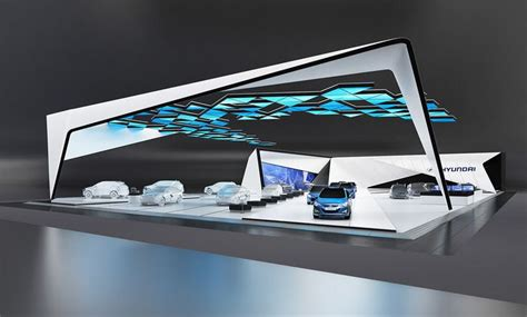 booth design concept strong exhibition design inspiration clean geometrical