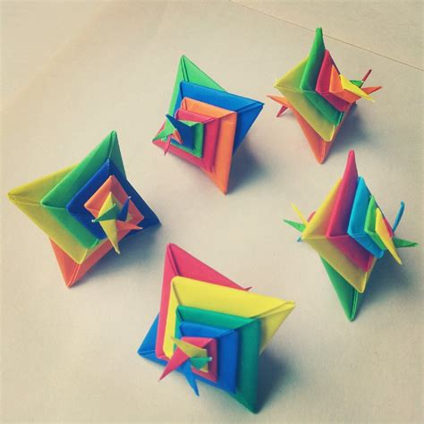 What Is Modular Origami - modular origami spiral 4 by madsoulchild on deviantart