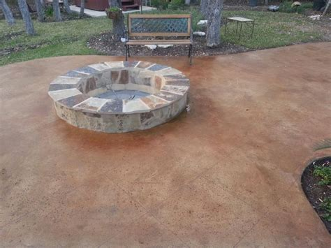 Stained Concrete Patio Pictures - best 25 concrete patio stain ideas on stained