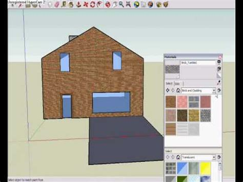 google sketchup house tutorial google sketchup house tutorial basic youtube