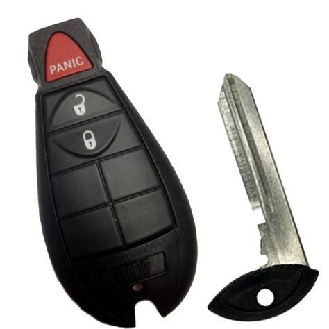 replacement smart remote keyless key fob shell for