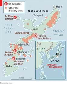 japan map us navy bases showdown