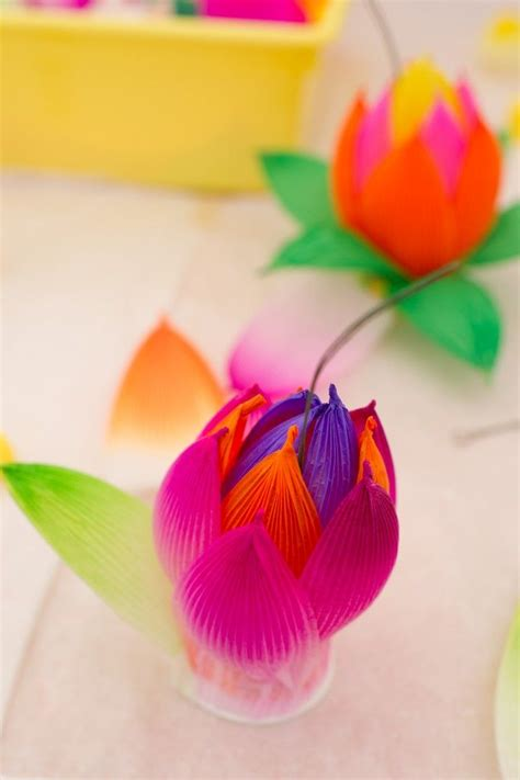 lotus flower paper craft 17 best images about culture fair on