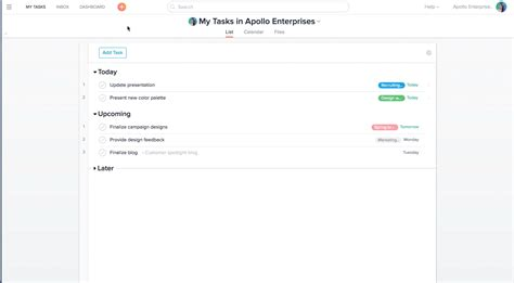 asana task template project management with asana product guide 183 asana