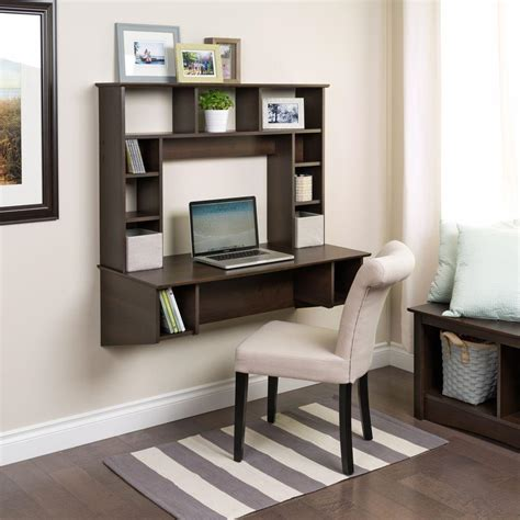 Prepac Sonoma Espresso Desk With Storage Eehw 0800 1 The Desks For With Storage