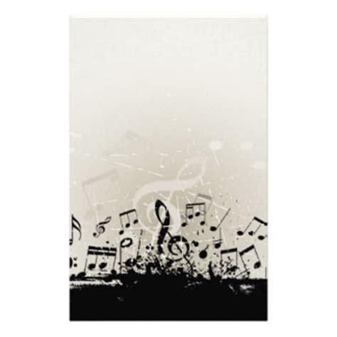 printable music stationery music stationery zazzle