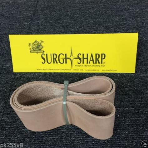 surgi sharp 2 x 36 leather honing strop belt made in usa