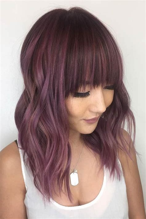 lilac hair color hair color 2017 2018 chocolate lilac hair has become
