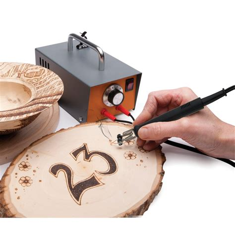 peter child pyrography machine package fire writer