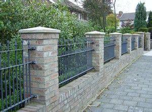 gartenzaun metall mit steinen gefüllt 20 besten pfeiler tor und zaunpfeiler gate piers