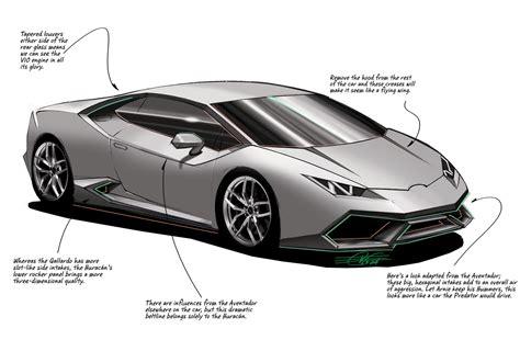 Features Of Lamborghini 2015 Lamborghini Huracan Lp 610 4 The Lines
