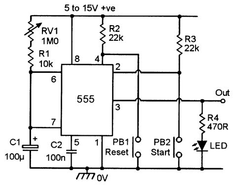 555 timer formula for frequency of oscillation wiring