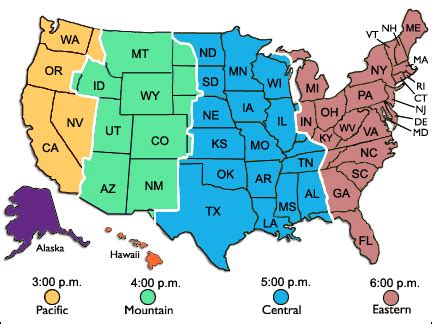 time zone map texas maps us map with time zones