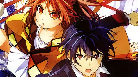 wallpaper black bullet top rentaro and enju doujinshi wallpapers