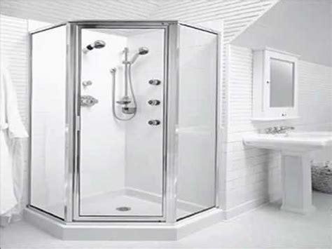 Shower Stalls For Mobile Homes Youtube Shower Doors For Mobile Homes