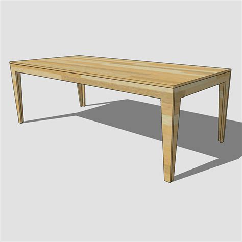 Plywood Table by Plywood Table Build Plan Soundblab