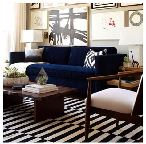 navy couch ideas  pinterest navy blue couches