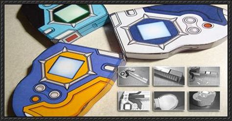 Digimon Digivice Papercraft - digimon d tector digivice free papercrafts