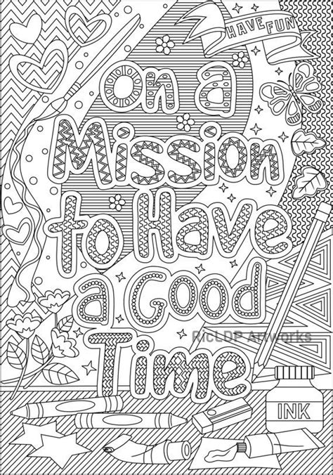 coloring for creativity on a mission to a time coloring page and ignite