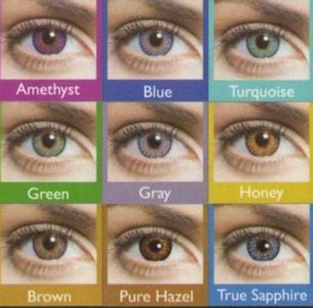 eye contact lenses color how to choose colored contact lens for