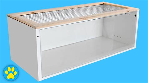 Habitat Bookcase Diy Hamster Cage Ikea Billy Cage Youtube