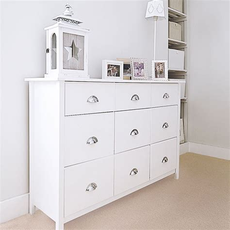 White Chest Of Drawers by Traditional Hallway With White Chest Of Drawers