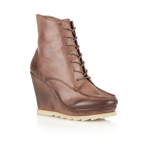 buy dolcis jade wedge ankle boots