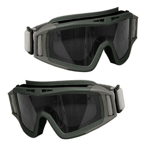 Swat Goggles cs airsoft tactical swat goggle glasses eye protection mask 3 lens
