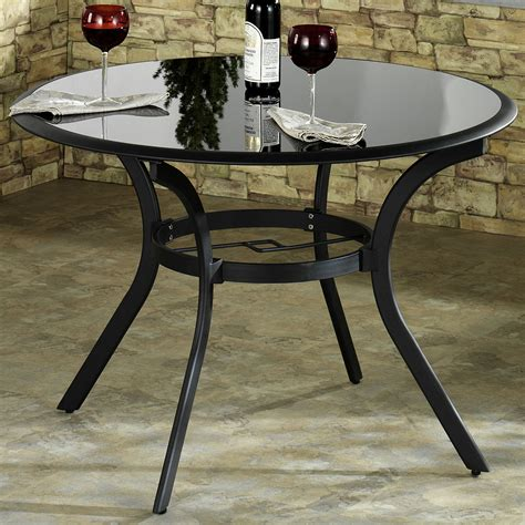 Patio Tables Only Estes Patio Table Only Charcoal 42 Touch Of Class