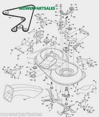 craftsman lt1000 mower deck diagram cutting deck mower drive belt fits 42 deck models