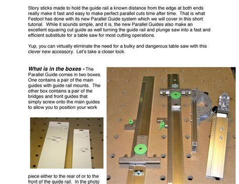 guide woodworking lote wood seneca woodworking parallel guide system guide