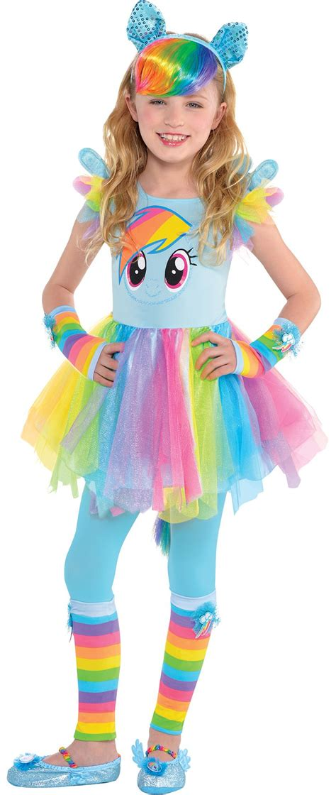 girls beautiful butterfly costume party city create your own girls rainbow dash costume accessories