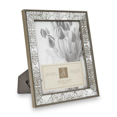 picture frame smith 8 quot x 10 quot mirrored picture frame