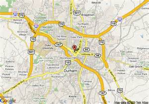 durham carolina map map of durham marriott convention center durham