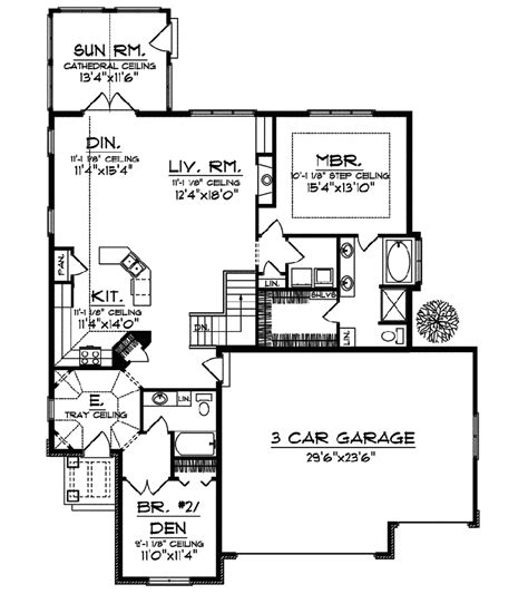 seven gables european home plan 051d 0516 house plans