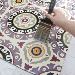 make your own custom rug out of any fabric you from