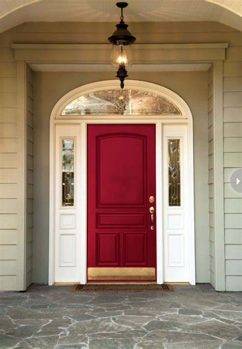red front doors best exterior door ideas our front door makeover four