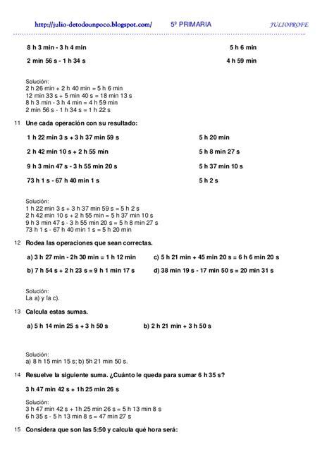 ejercicios tiempo y dinero de 4 de primaria santillana ejercicios de tiempo solucionario