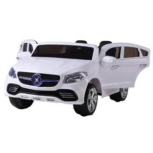 Ride On Mercedes Seat Mercedes Style Electric Ride On Car White