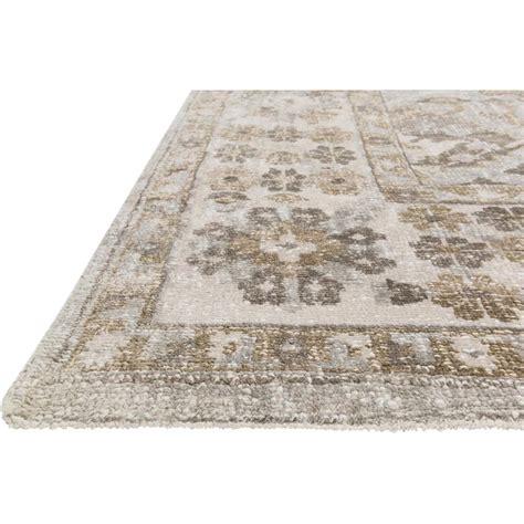 grey silk rug farand antique wash silver grey ivory silk rug 4x6 kathy kuo home