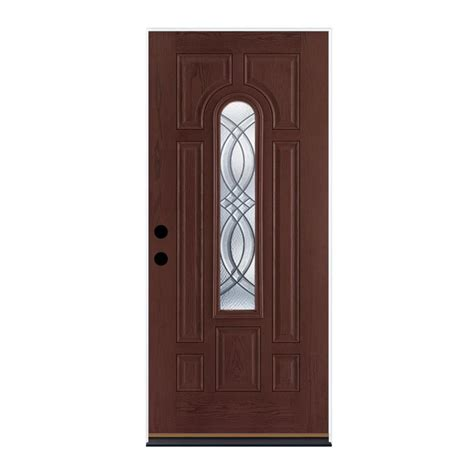Therma Tru Fiberglass Doors by Shop Therma Tru Benchmark Doors Terracourt 8 Panel