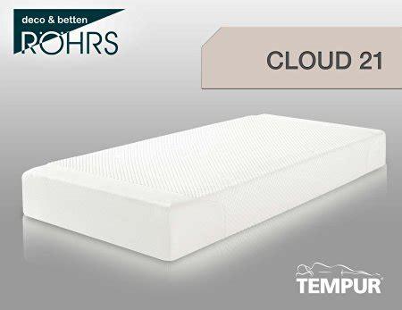 test tempur matratze tempur cloud 21 im test unser detailierter h 228 rtetest