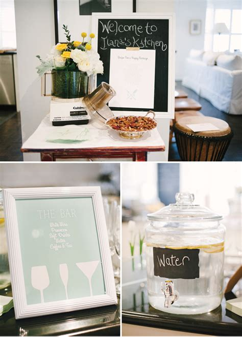 gorgeous quot minty fresh quot kitchen themed bridal shower